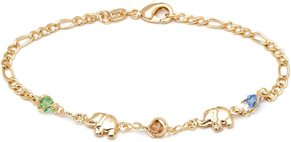 beautiful unique jewelry bracelet elephants gold stand out