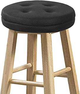 baibu Bar Stool Cushions, Super Breathable Round Bar Stool Covers Seat Cushion Round with..