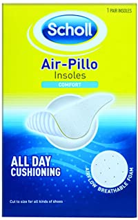 Scholl Air-Pillo Comfort Insoles Shoe Cushioning, 1 Count