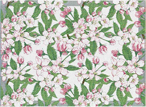 Ekelund Apfelblüte Tischset (Öko-Tex) 35x48 cm Mehrfarbig
