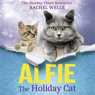 Alfie the Holiday Cat audiobook cover art