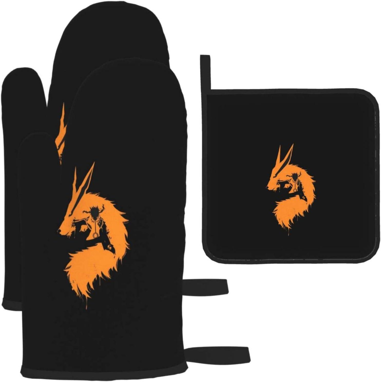 Super intense SALE Kurama Heat Resistant Extra Long Oven Rare Holders Reus Pot and Mitt