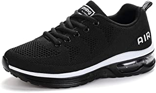Axcone Homme Femme Chaussures Air Baskets Running Fitness Sport Sneakers