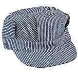 Rothco Adult Hickory Striped Engineer Train Conductor Cap XL