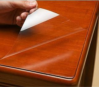 Mr.M テーブル 保護フィルム 透明フィルム テーブルマット デスクマット 卓上マット キズ防止 撥水 耐熱 キズ防止 汚れ防止 透明 ビニールシート カット販売 粘着シート 粘着剤付き テーブルフィルム 幅90cm (60cm*200cm)