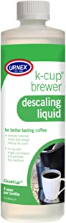 Urnex K-Cup Descaler (3 Uses Per Bottle) - 14 Ounce - CleanCup Descaling Solution Use with Keurig K Cup and Drip Coffee Machine