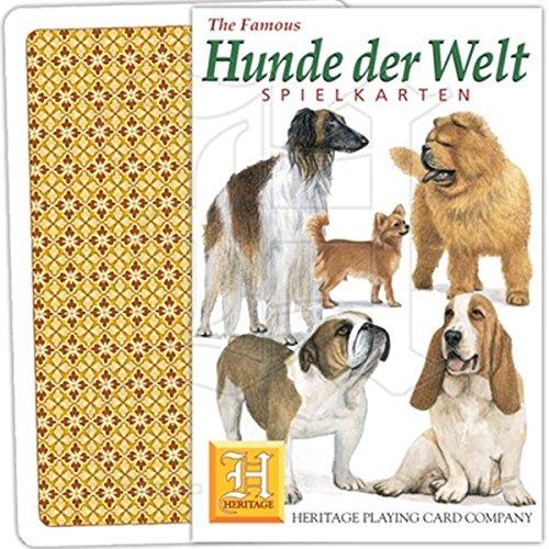Spielkarten Hunde der Welt