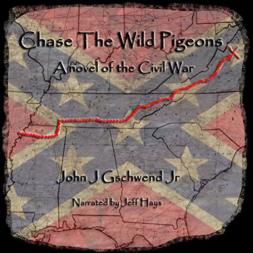 Chase the Wild Pigeons audiobook cover art