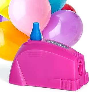DEEPLEE Electric Balloon Pump, Portable Balloon Inflator Quick-Fill AC 100V Balloon Blower for Balloon Arch, Balloon Column and Balloon Decoration for Party
