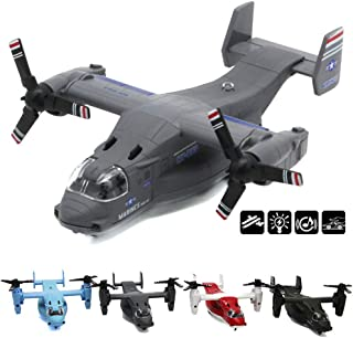 CORPER TOYS Aircraft Toy Die Cast Model Air Plane Military Air Force Fighter Jet Transport Aeroplane Airfreighter Collecti...