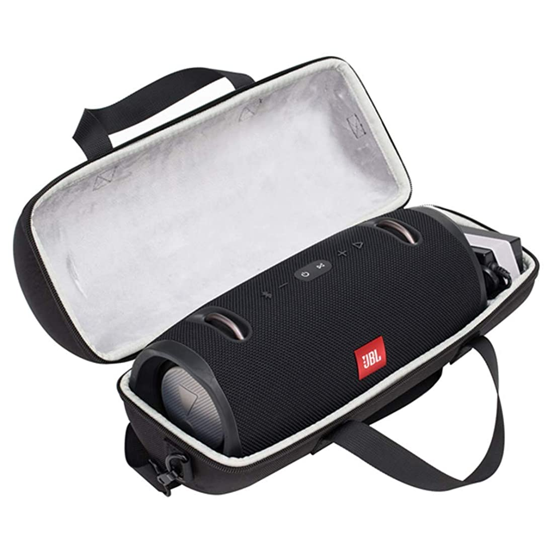 Hard Travel Case for JBL Xtreme/Lifestyle Xtreme 2 Portable Bluetooth Speaker (Black) fr4436277