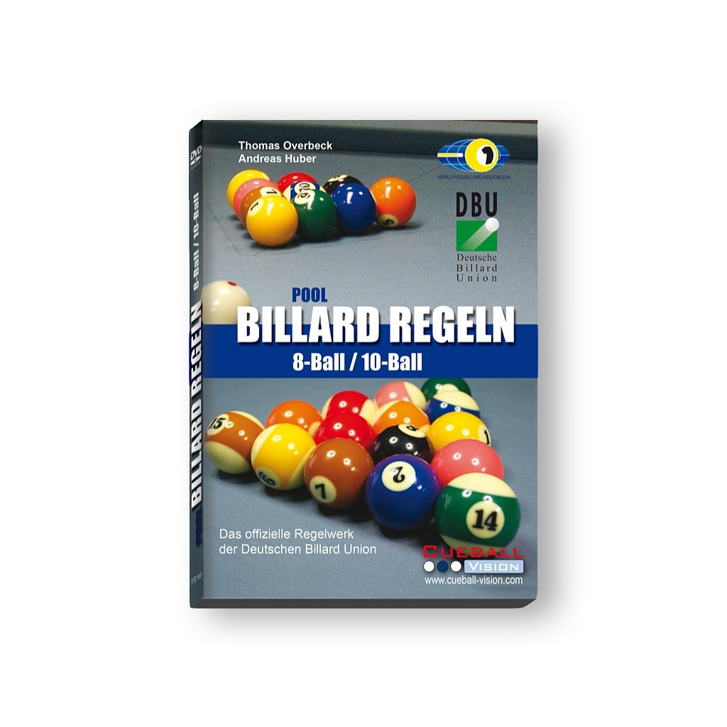 DVD billar Reglas 8 Ball – Balón de la 10 DBU y WPA: Amazon.es ...