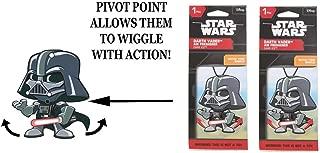 Star Wars Darth Vader Wiggler 1 pack air freshener Dark Ice x 2 packs