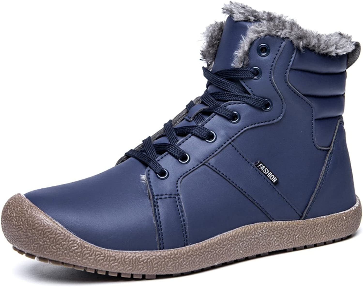 XIDISO Men's Waterproof Work Boots Insulated Rubber Outsole