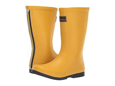 Joules Kids Printed Welly Rain Boot (Toddler/Little Kid/Big Kid) (Antique Gold) Girls Shoes
