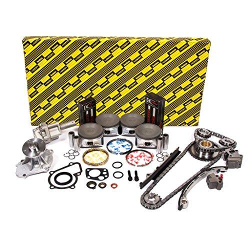 Evergreen OK3016/0/0/0 Fits 98-04 Nissan Frontier Xterra 2.4L DOHC KA24DE 16V Engine Rebuild Kit