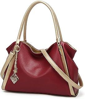 Fanspack Lady Tote Big Capacity Casual Multiuse Shoulder Handbag Crossbody Handle Bag