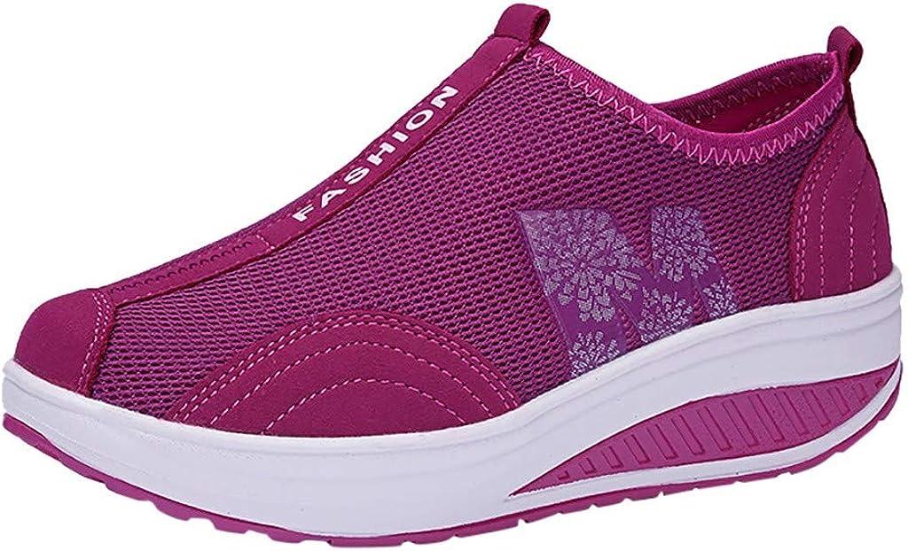 Hengshikeji Fashion New item Women Mesh Running Casual Shoes Sale Sne Platform