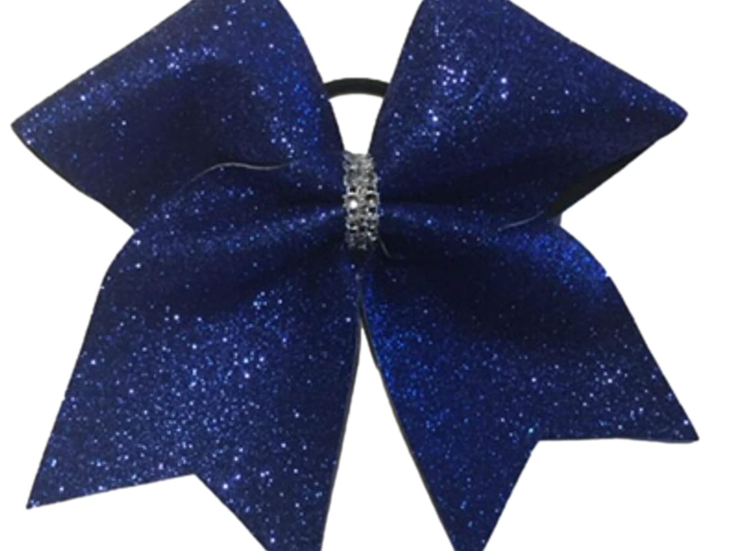 Royal Blue security Glitter 2021 spring and summer new Bow Cheer