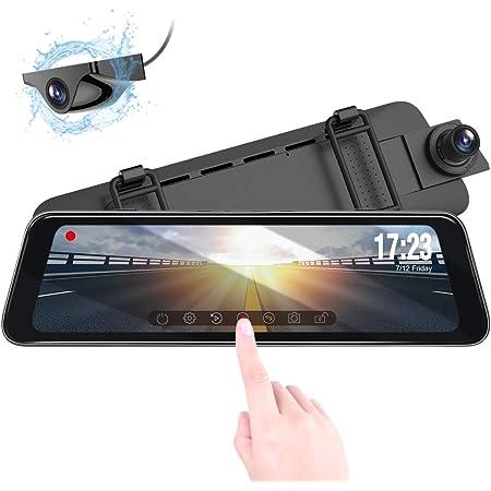 Vantrue M1 9 88 Ips Touch Screen 1296p Front Rear Elektronik