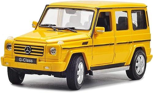 nueva marca JIANPING Modelo Modelo Modelo de Coche Coche 1 24 Mercedes Benz G Series GCLASS Aleación de simulación Fundición de Juguetes Adornos Deportivos Colección de Coches Joyería 19x7x8CM Auto Modelo  el mas reciente