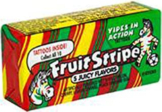 Fruit Stripe Chewing Gum, Assorted Fruit Flavors, 1.80 oz