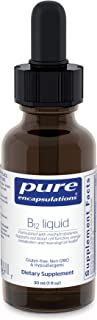 Pure Encapsulations - B12 Liquid - 1,000 mcg Vitamin B12 (Methylcobalamin) Liquid for Nerve Health and Cognitive Function ...