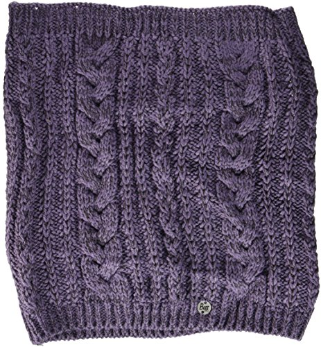 Buff Femme Knitted col écharpe Comfort Darla Tuyau, Purple, One Size