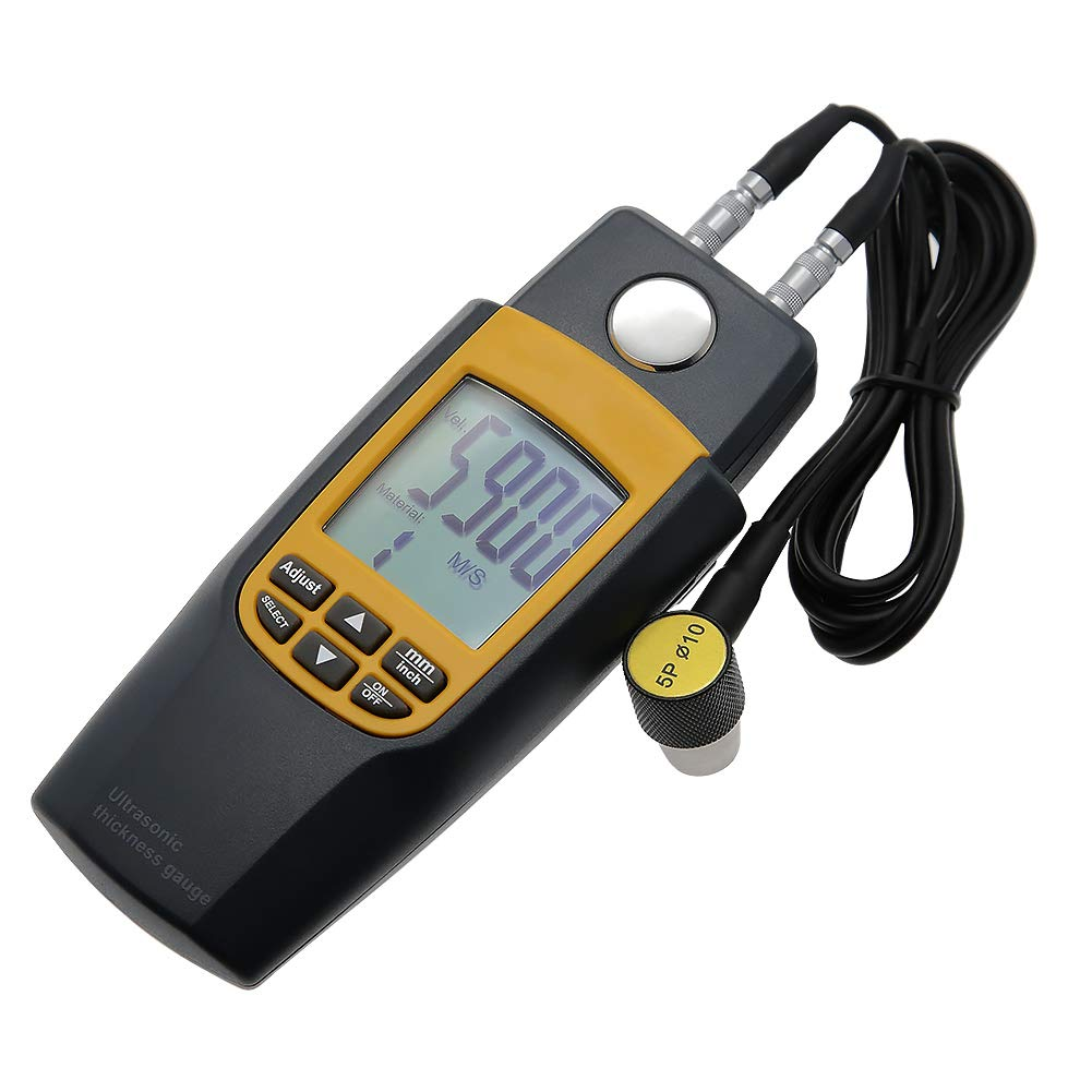 AMTAST New products, world's highest quality popular! Max 76% OFF Digital Ultrasonic Thickness 0.05-8 Meter 1.2~225mm Range