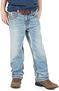 Wrangler Apparel Boys 33 Extreme Relaxed Chute Figther Jeans 12 Slim Blue