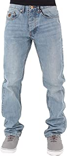 Rocawear Mens Boys Double R Star Relaxed Fit Hip Hop Jeans SWB