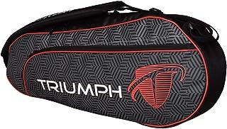 Triumph Single Compartment Black & Red Tennis/Badminton kit Bag (Pack of 1)