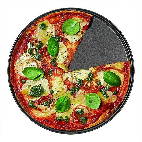 clasificación y comparación Dispositivo para hornear culpable, cuenco de pizza antiadherente de acero al carbono de 33 cm para asar a la parrilla … para casa