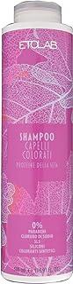 Etolab - Champú para cabello teñido con semillas de lino proteínas de seda y aceite de macadamia (2x500 ml)