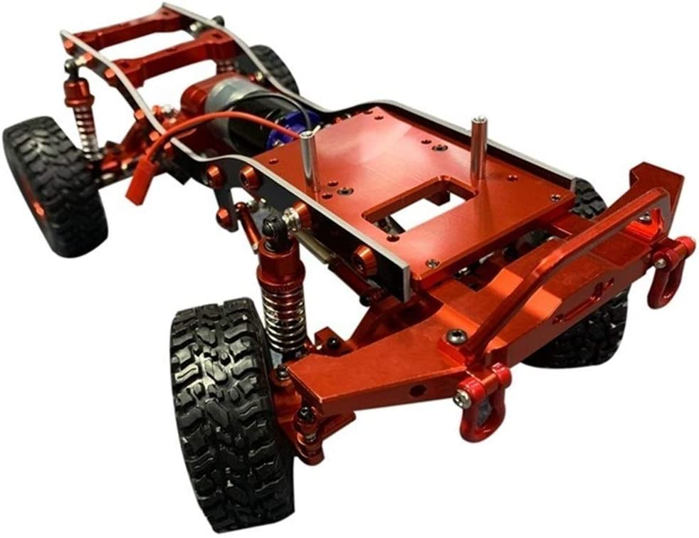 GzxLaY RC Car Chassis Upgrade Parts Vehicle Assembled Models All New color items free shipping