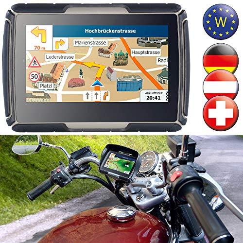 NavGear Navigationsgeräte: TourMate N4, Motorrad-, Kfz- & Outdoor-Navi mit West-Europa (Motorrad Outdoor Navis)