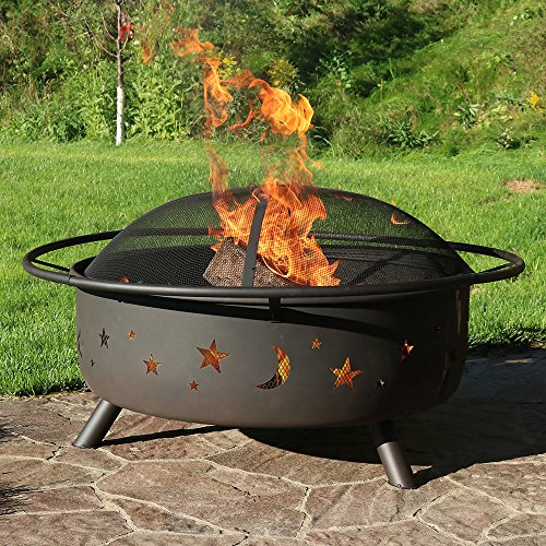 bestfire pit with spark screen