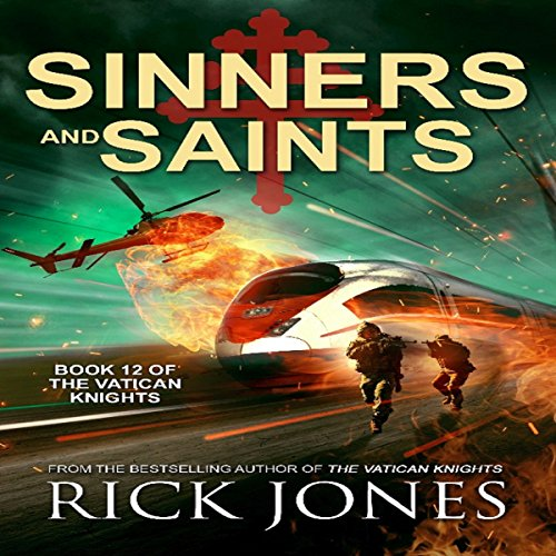 Sinners and Saints audiobook cover art