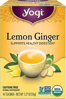 Yogi Tea Lemon Ginger Tea Bags, 16 ct