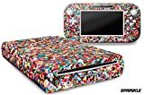 247 Skins Graphics kit Sticker Decal Compatible with Nintendo Wii U and Controllers - Sprinkle