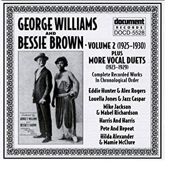 George Williams & Bessie Brown Vol. 2 (1925-1930)