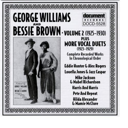 George Williams & Bessie Brown & Other Artists
