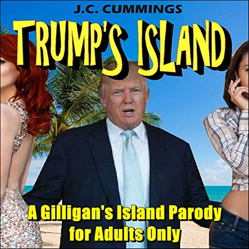 Trump's Island audiobook cover art