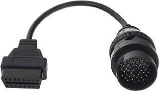Smartfox 38 PIN DLC Buchse auf 16 PIN OBD2 Stecker Adapter Verlängerungskabel Diagnose Interface für Mercedes Benz W124, W140, W202, S202 von Baujahr 1987 2000