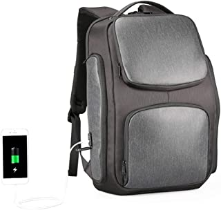 RJW Solar Computer Backpack USB Charging Backpack Men's Outdoor Travel Backpack Fashion