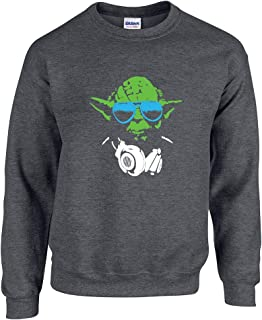 Swaffy Tees 133 Jesse and The Rippers Funny Adult Crew Sweatshirt