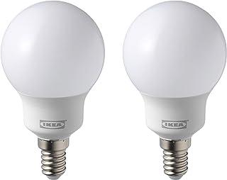 comprar comparacion IKEA RYET E14 - Juego de 2 bombillas LED (2 unidades, 600 lúmenes, 5000 K)