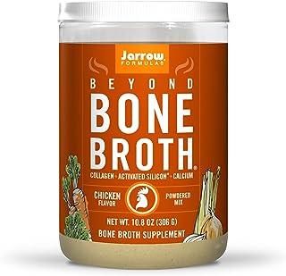 Jarrow Formulas Beyond Bone Broth, Chicken Flavor - 10.8 oz Powdered Mix - Nutritional Take on Traditional Bone Broth - Su...