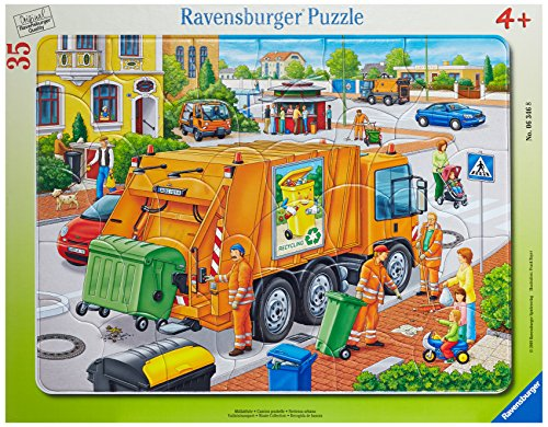 Ravensburger Waste Collection 35 Piece Frame Jigsaw Puzzle for Kids – Every...
