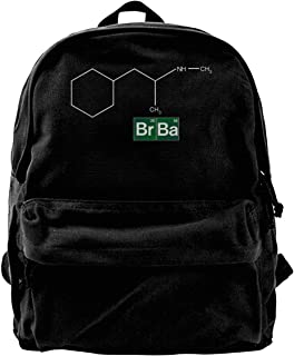 Mochila de lona Walter White Heisenberg Chemistry de mesa periódica mochila de gimnasio senderismo portátil bolsa de hombr...